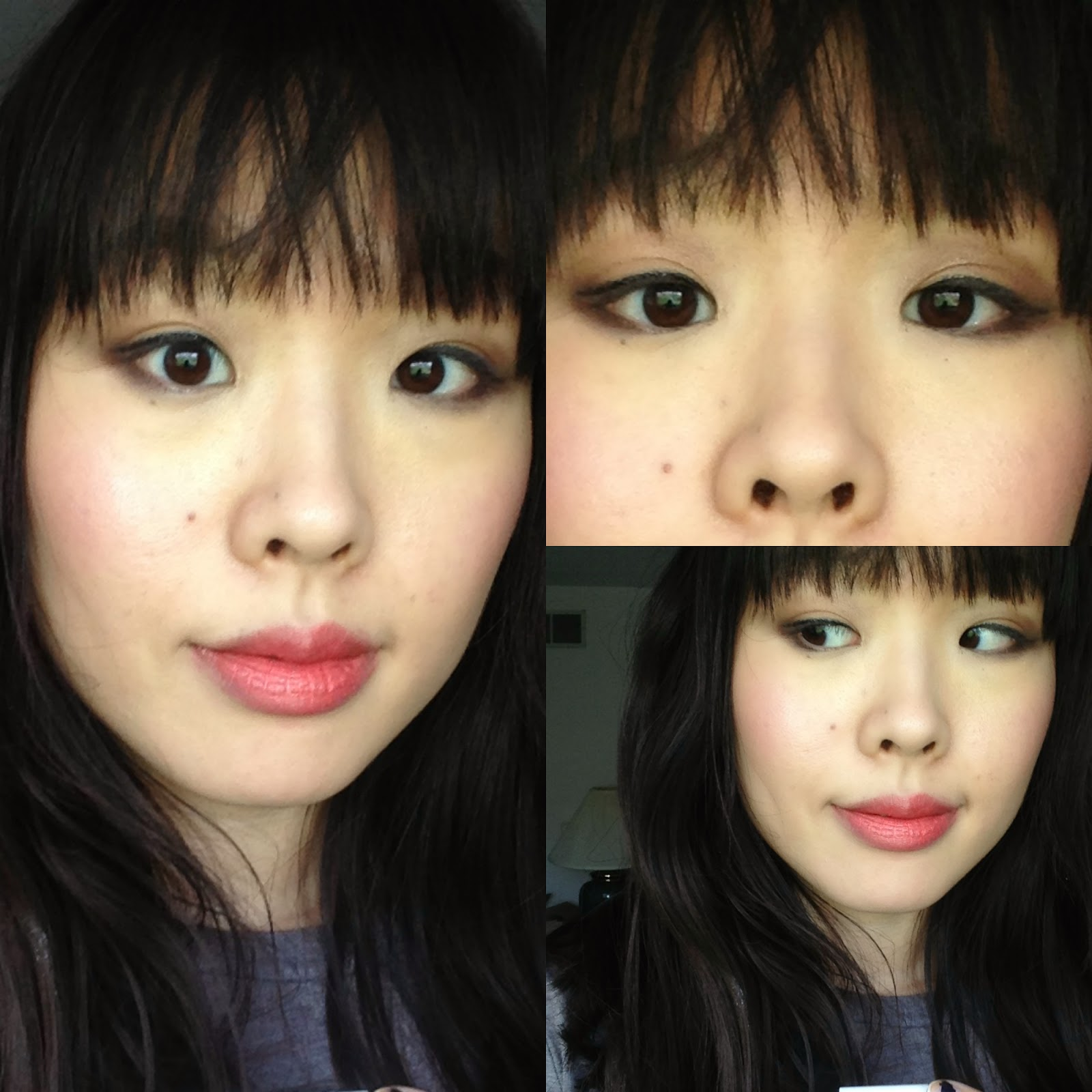 wet n wild comfort zone look fotd left side daytime smoky brown eye