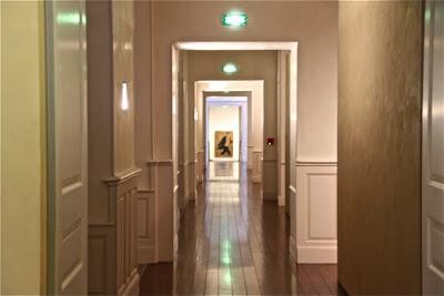 Pasillos del Museo Toulouse Lautrec de Albi. Blog Esteban Capdevila