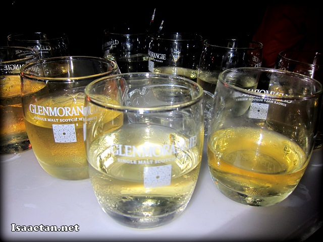 Free flow of Glenmorangie The Original Scotch Whisky
