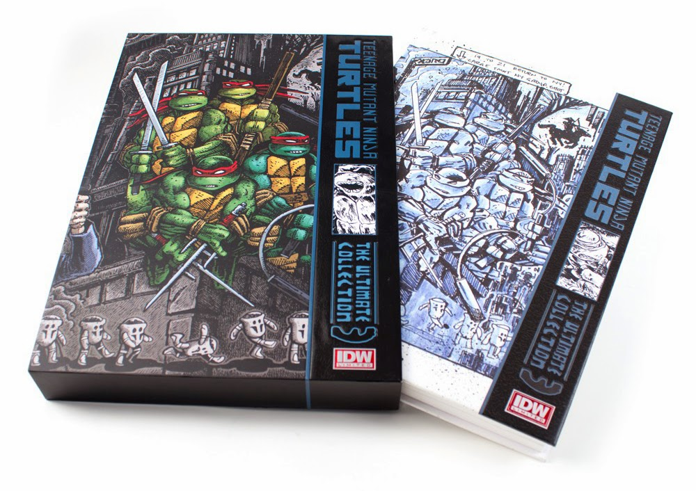 TMNT Ultimate Collection Vol 3 Red Label Now Available From IDW Limited