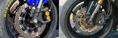 Yamaha R6 vs Kawasaki ZX-6R