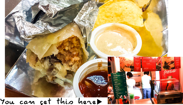 Affordable Burrito at only P70 in Agno