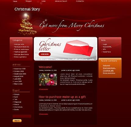 Christmas Story theme