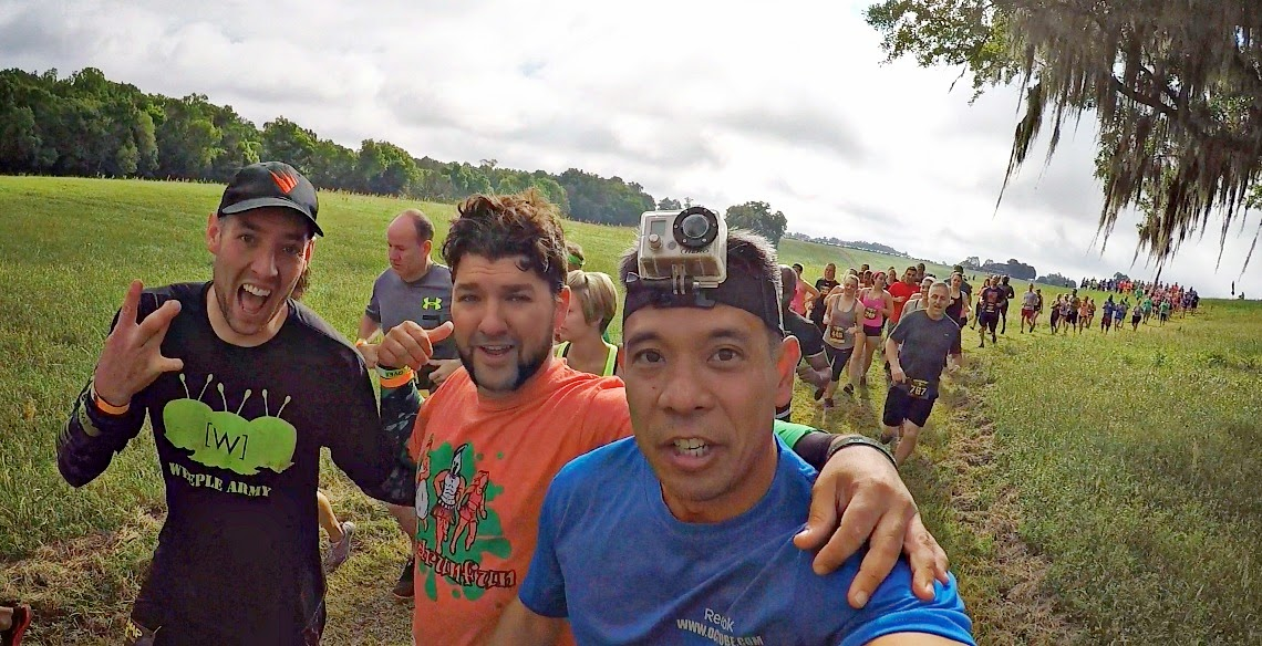 Swamp Dash - April 2015 - Alachua Florida - Mud Run Fun - Weeple Army