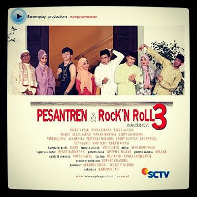 ... Foto Pemain Pemeran Sinetron Pesantren Amp Rock N Roll Season 3 Sctv