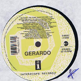 Gerardo – We Want The Funk (Vinyl) (1991) (VBR)