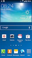 Samsung Galaxy S4 Android 4.4.2 look