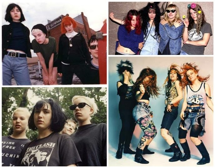grunge bands female grunge bands L7 bikini kill