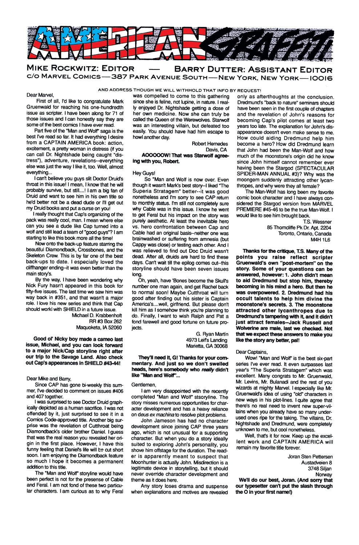 Captain America (1968) Issue #412 #361 - English 23