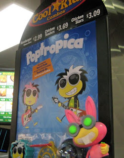 Poptropica at Hardee's and Carl's Jr.!