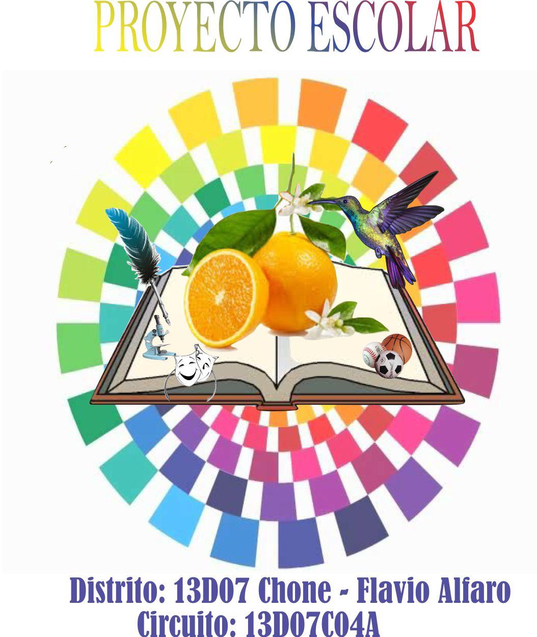 Unidad Educativa General Eloy Alfaro Logo De Proyecto Escolar