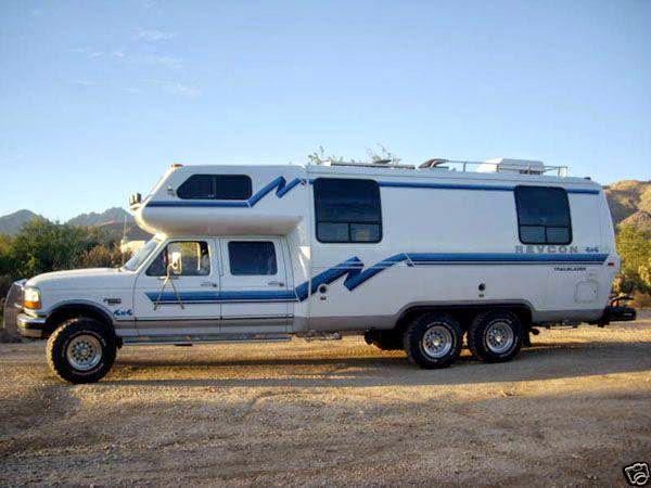 Original OffRoad Camper Wars Ford 4x4 Sportsmobile Vs Pace Arrow RV  Dirt