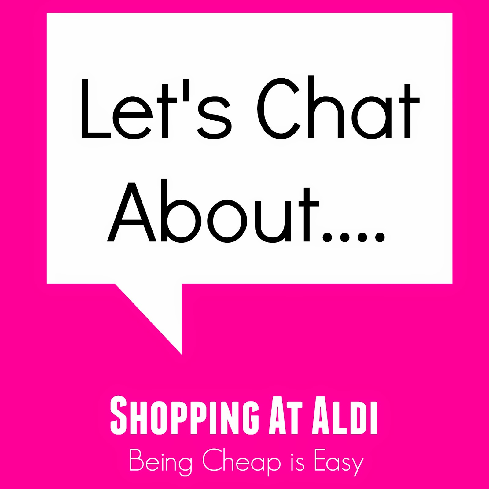 Aldi, Grocery Shopping, #letschat, Budget, Groceries