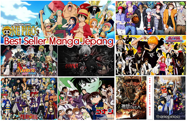Top Best Seller Manga Japan Series