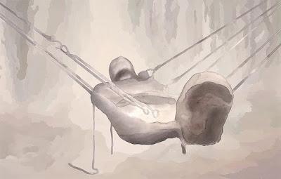 monica majoli bdsm rubbermen suspension bondage latex
