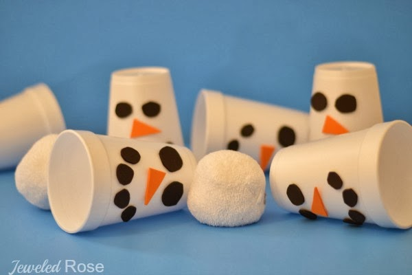 Snowman Slam Game for Kids