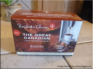 President's Choice The Great Canadian single serve coffee pods