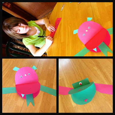 Alien Preschool Craft