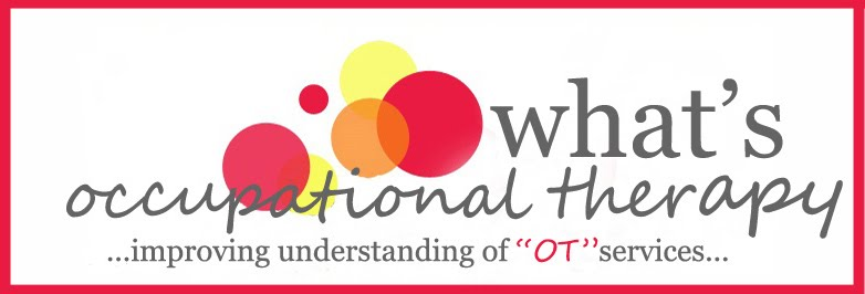 What&#39;s Occupational Therapy?