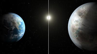 كيبلر يرصد كوكب شبيه بالأرض بعيد ب 1400 سنة ضوئية عن الأرض