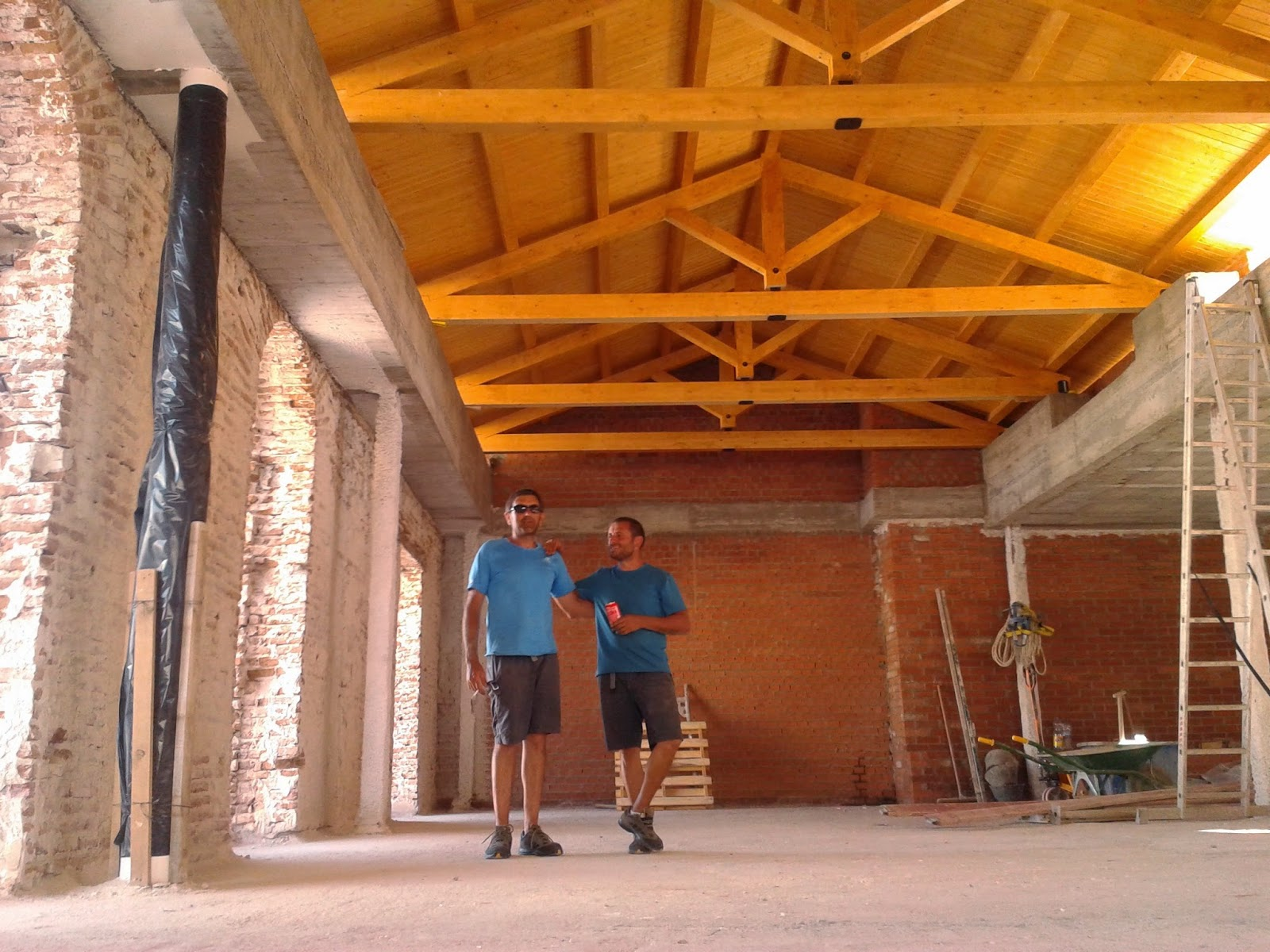 Estructuras de madera para tejados materiales de construcci n para la reparaci n - Estructuras de madera para tejados ...