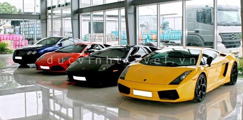 Cho thuê siêu xe cưới Lamborghini 1