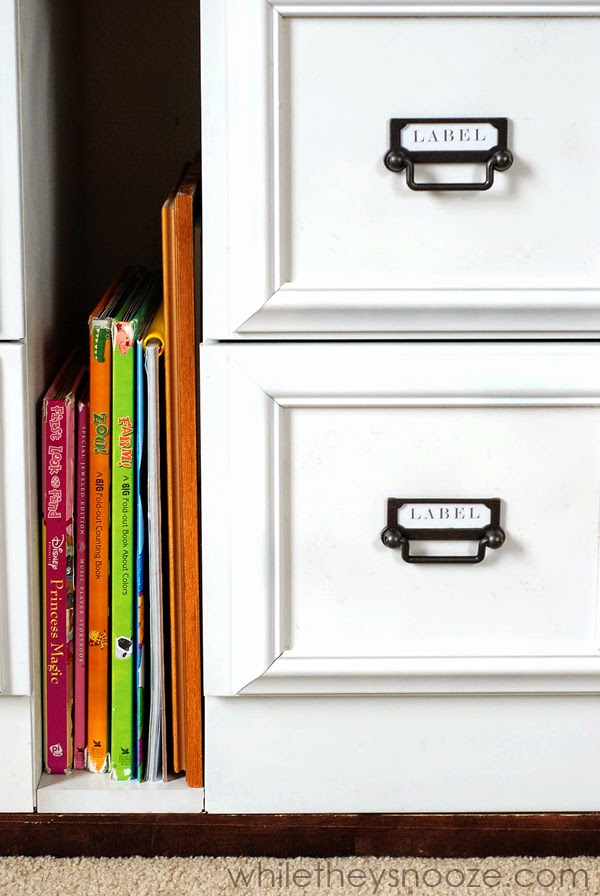 while they snooze file cabinet update. Black Bedroom Furniture Sets. Home Design Ideas