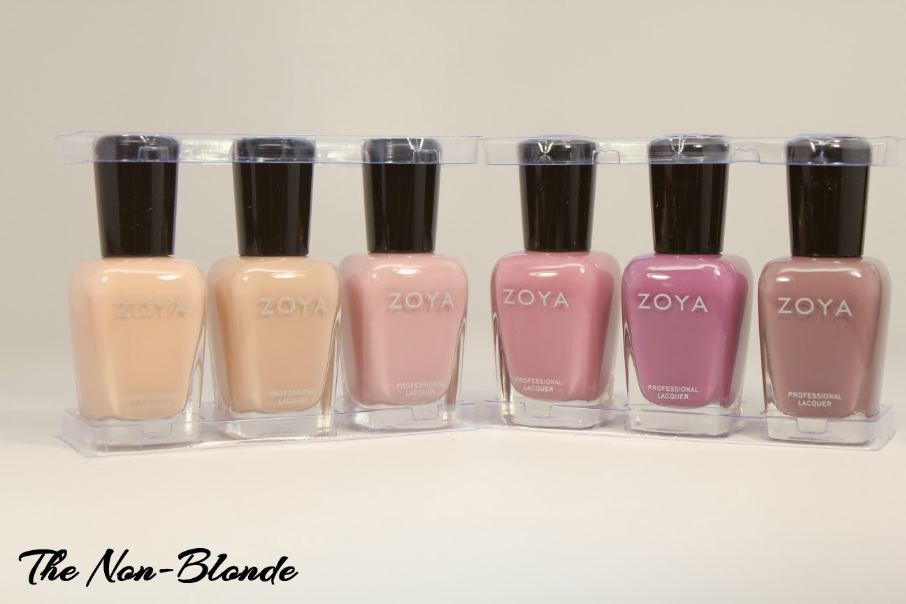 Zoya Naturel Collection Nail Polish