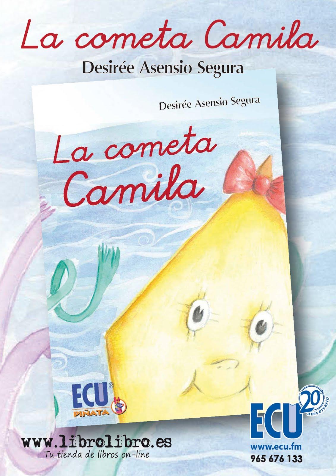 Flyer La cometa Camila
