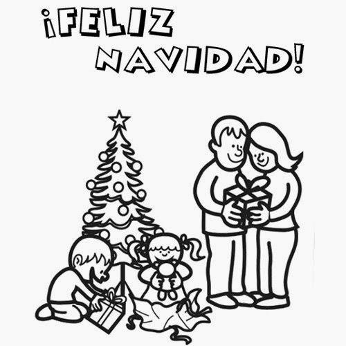 Imágenes y Gifs Animados ®: IMÁGENES DE NAVIDAD PARA COLOREAR