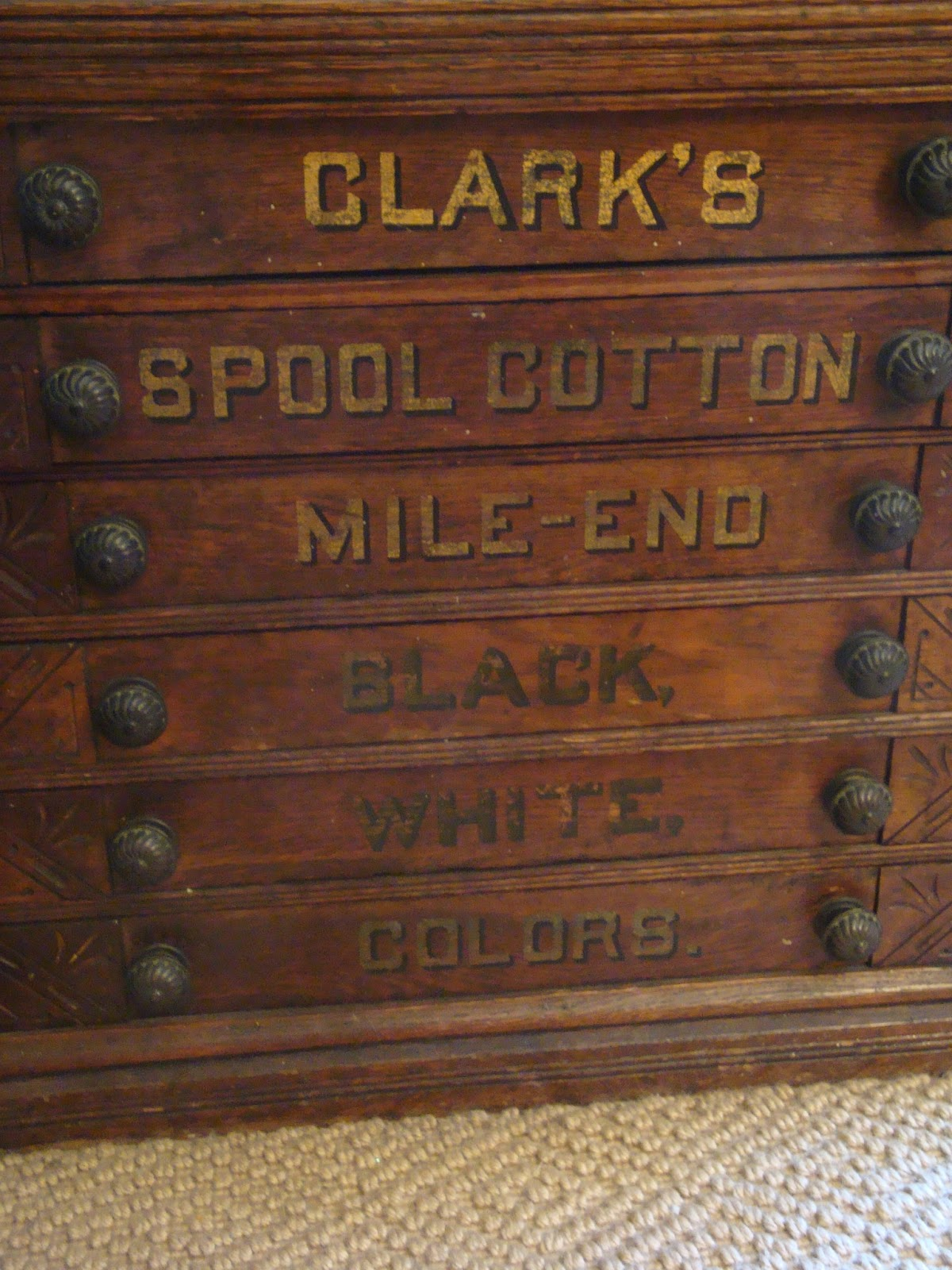 Antique Spool Chests - The Polohouse: Antique Spool Chests