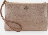 Kate Spade wristlet, Kate Spade glitter bug purse, Kate Spade holiday clutch, designer pink glitter purse, pink glitter wristlet, holiday 2014 gift ideas for her, fashion blogger holiday gifts