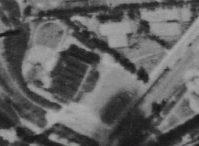 Baustelle CCB, Neubau Citycube Berlin, Jaffeestraße, Ehemalige Deutschlandhalle, Google Earth Bildaufnahmen, 14055 Berlin, 1943 - 2012