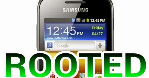 Cara Mudah Root Samsung Galaxy Young Duos GT-S6102 - Cara Root & Hack