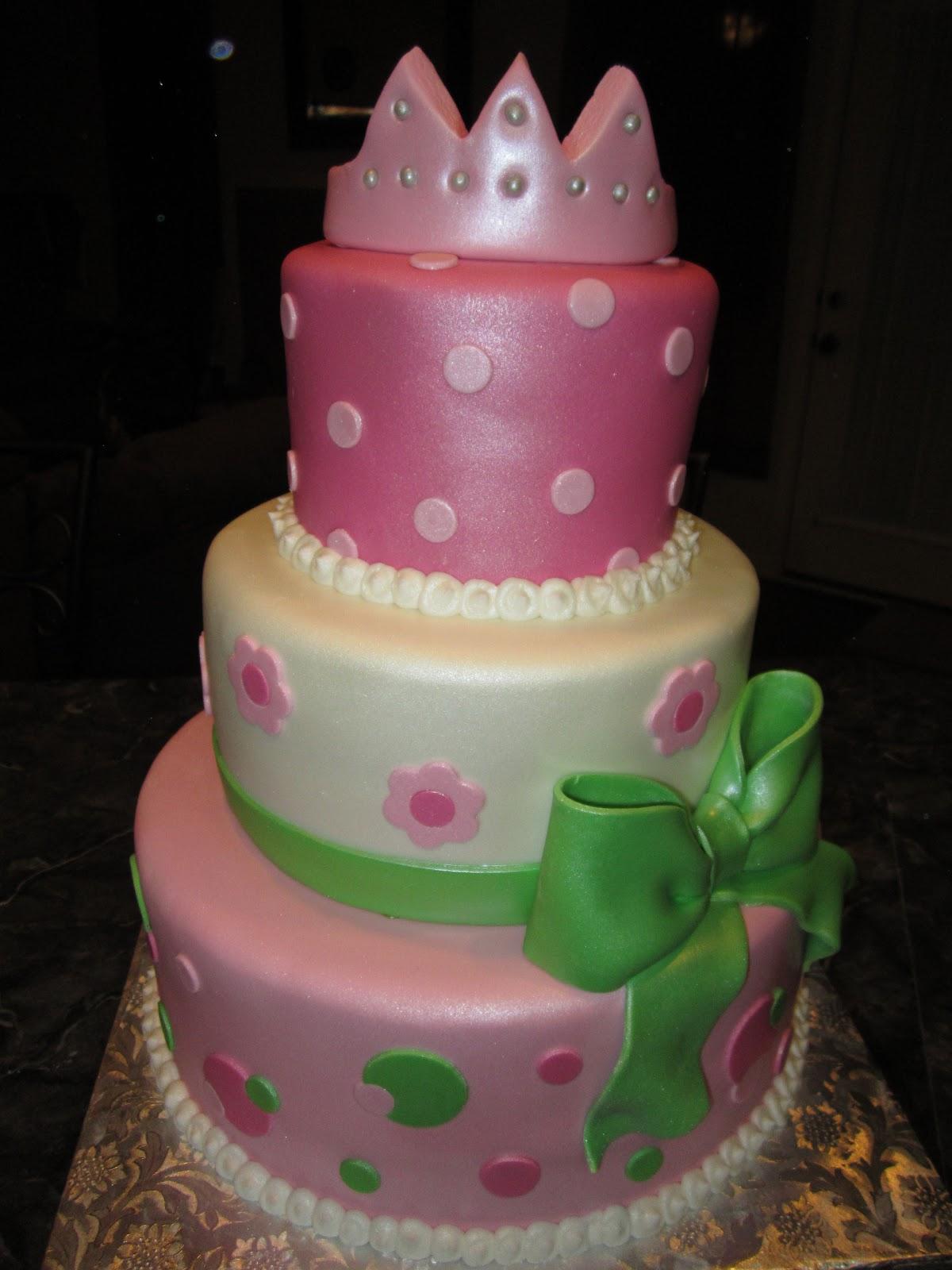 New Little Princess Baby Shower Cake