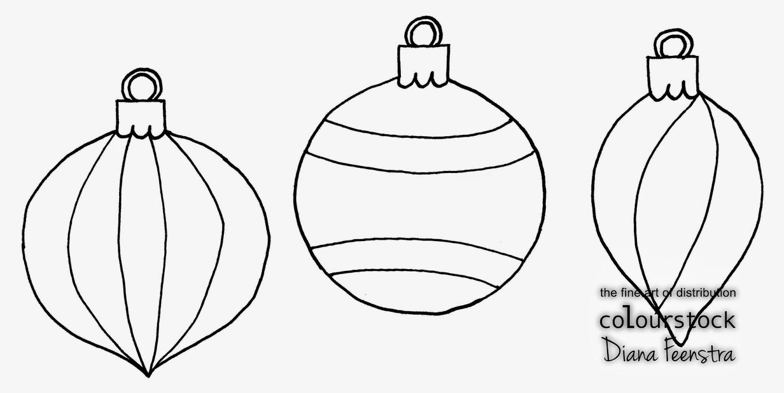 Colourstock Kerstballen