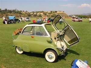 a picture can say a thousand words and for some people the first look at the isetta leaves them saying what is that this strange little vehicle was