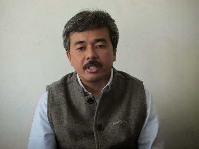Jan Aawaz secretary Munish Tamang