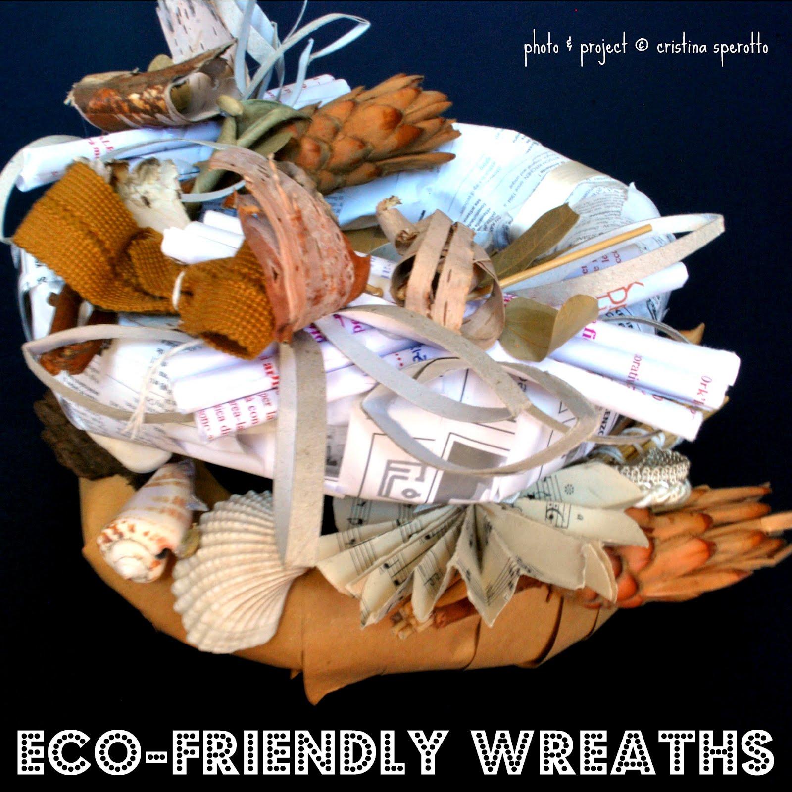Ork 39 idea atelier eco ghirlande di fine estate eco for Progetti di edilizia eco friendly