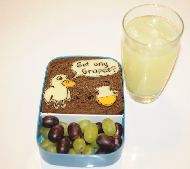 The Duck song bento