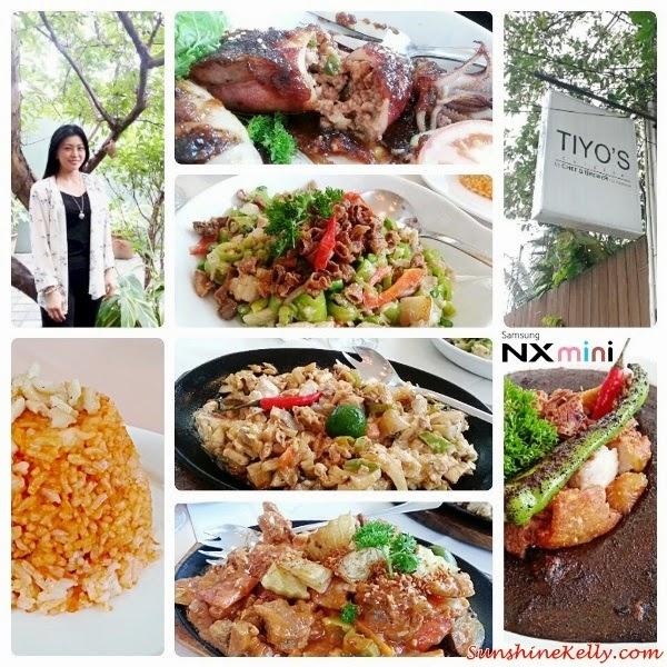 Tiyo's, Cuisine by Chef & Brewer, Filipino food, philipines food, pinoy food