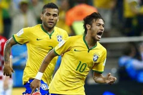 Hasil Pertandingan Skor Brasil vs Kroasia Piala Dunia 2014