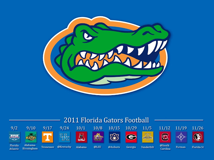 2011 Gator Football Schedule