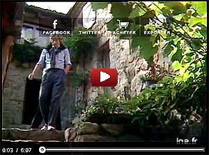 Jean Ferrat : la maison et le jardin d'Antraigues !