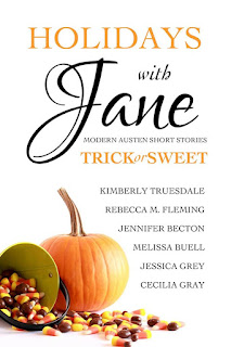Book cover: Holidays with Jane Trick or Sweet by various authors