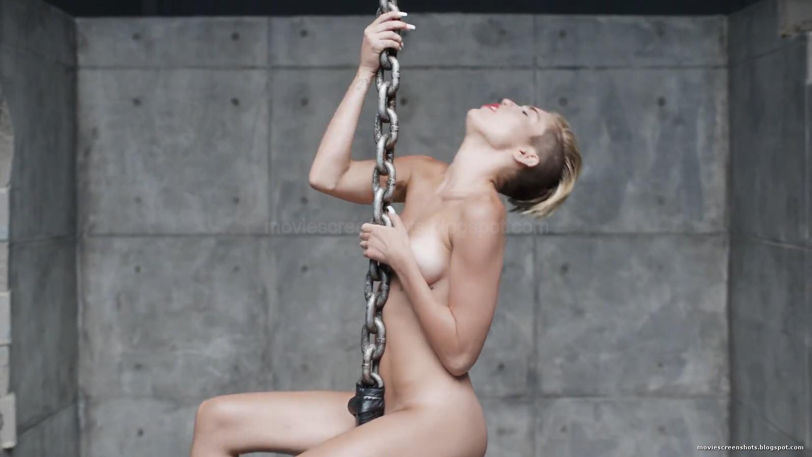 Miley cyrus wrecking ball explicit
