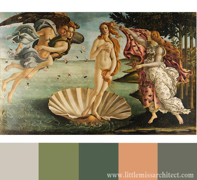 interior design, color palette inspirations