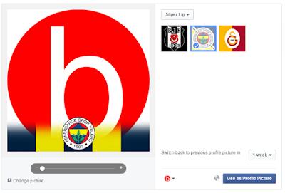 facebook profil resmine fotoğrafına fenerbahçe logosu amblemi eklemek nasıl yapılır nereden hangi siteden yapılır