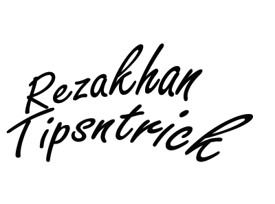 rezakhan tips and trick