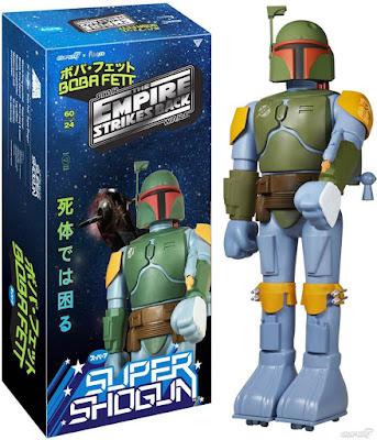 """Star Wars """"Empire Version"""" Boba Fett Super Shogun Figure by Super7 x Funko"""